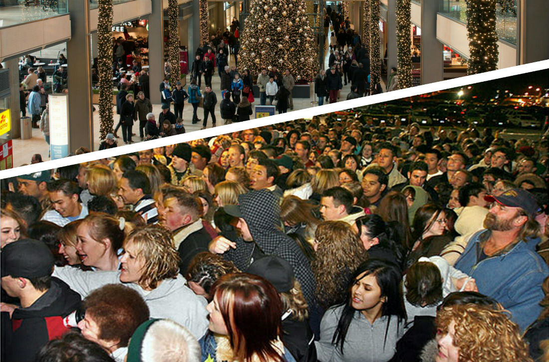 The effect of Black Friday on supply chains