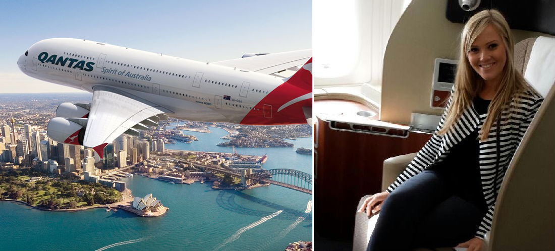 Cassie Mackie from Qantas Airlines