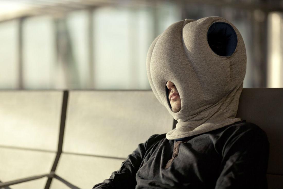 Ostrich Pillow - sleep gadgets