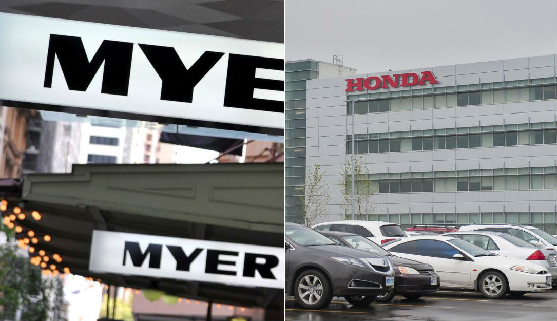 Big CPO moves in both Myer and Honda