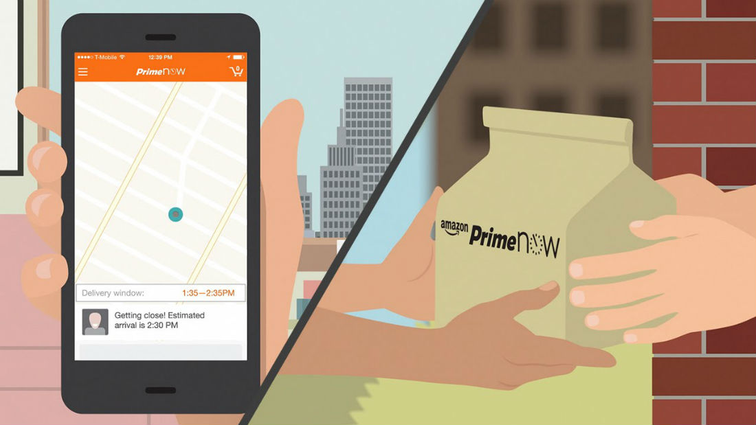 Amazon Prime Now will change the logistics industry