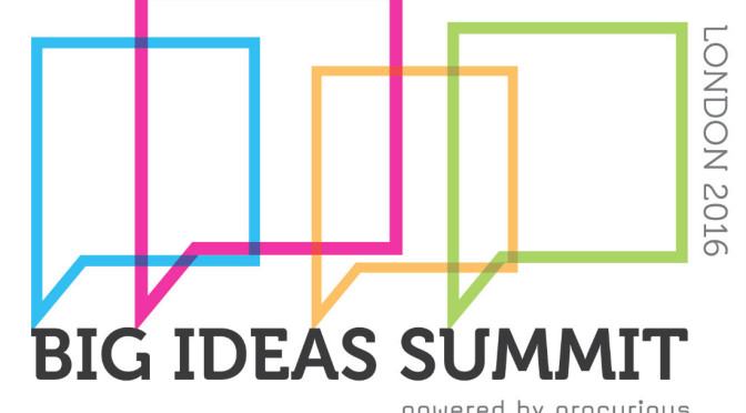 the-procurious-big-ideas-summit-is-back