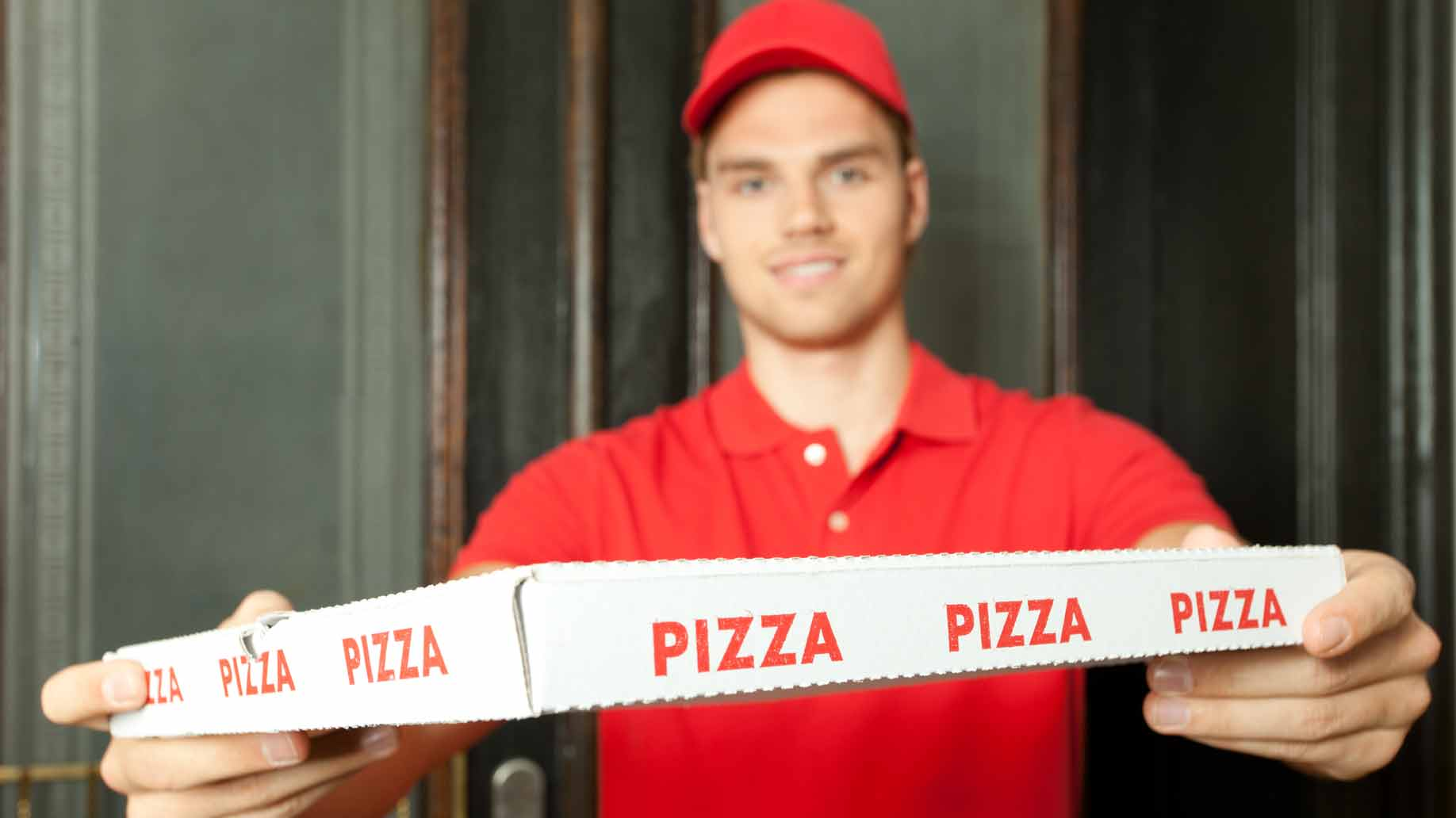 Chloes new job pizza delivery girl