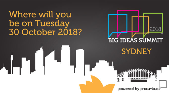 procurious-big-ideas-summit-rolls-into-sydney